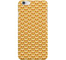 Heart Eyes Emoji Pattern iPhone Case/Skin