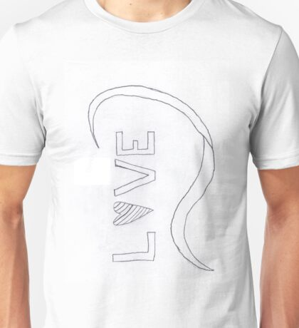 Waves of Love Unisex T-Shirt