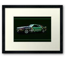 Jim Richards' Javelin Framed Print