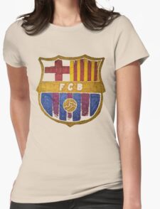 barcelona watercolor Womens Fitted T-Shirt