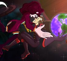 Madame and Madman: Villainy in Space by Laura Douglass