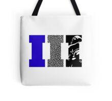 AJ3 - Art Sports Blue Tote Bag