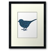 Floral Bird Framed Print