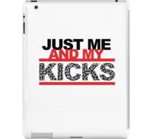 Just me and My Kicks iPad Case/Skin