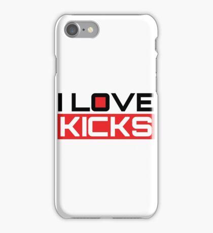 I Love Kicks iPhone Case/Skin