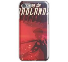 Into The Badlands, red. iPhone Case/Skin