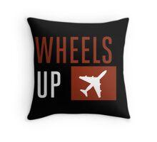 Wheels Up Throw Pillow