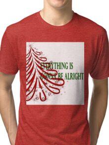Alright Ribbon Tri-blend T-Shirt