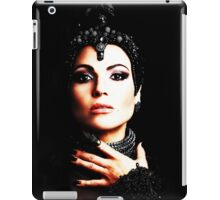 The Evil Queen - Black is my color iPad Case/Skin