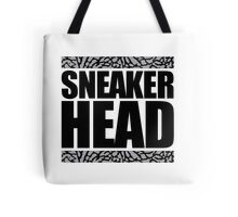 Sneakerhead -Black Out Cement Tote Bag