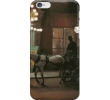 Leaving the Masquerade Ball iPhone Case/Skin