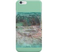 MERRY CHRISTMAS TO ALL YOU DEAR PEOPLE . iPhone Case/Skin