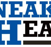 Real Sneakerheads - Blue Sticker