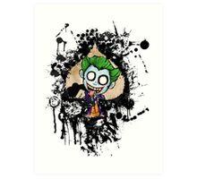 Joker Spade Art Print