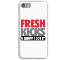 Fresh Kicks - Speckled iPhone Case/Skin