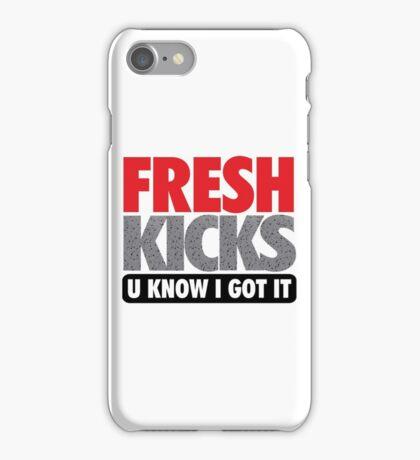Fresh Kicks - Speckled iPhone Case/Skin
