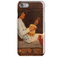 The Guitar Player iPhone Case/Skin