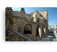 Roman Amphitheatre, Orange, France, Europe 2012 Canvas Print