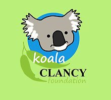 Koala Clancy Foundation - large logo by Echidna  Walkabout
