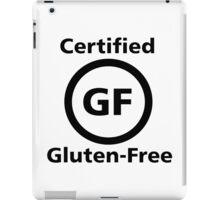 Certified Gluten Free iPad Case/Skin