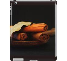 wooden spoon and cinnamon iPad Case/Skin
