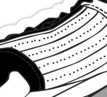 J14 - Black Toe Sticker