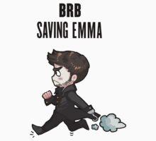 BRB -- saving emma Kids Tee