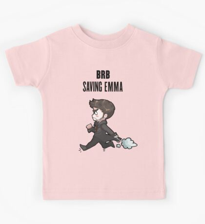 BRB -- saving emma Kids Tee