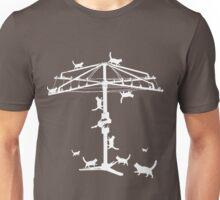 Hills Hoist with cats Unisex T-Shirt