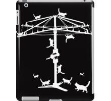Hills Hoist with cats iPad Case/Skin