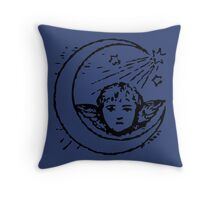 Victorian cherub Throw Pillow