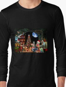 Christmas at the Kleegs Long Sleeve T-Shirt