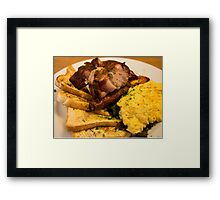 The Breakfast Framed Print