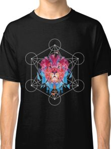 Geometric Lion Classic T-Shirt