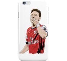 Mesut Ozil Arsenal Football Player Portrait Print iPhone Case/Skin