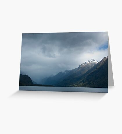 Snow-capped Greeting Card