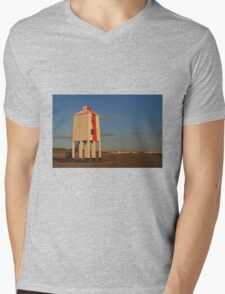 Burnham-on-Sea Lighthouse Mens V-Neck T-Shirt
