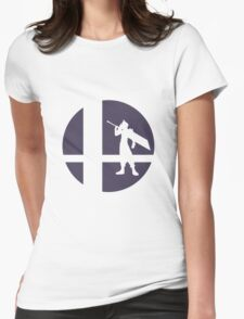 Cloud - Super Smash Bros. Womens Fitted T-Shirt
