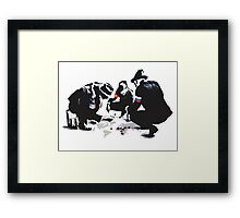 Global domination Framed Print
