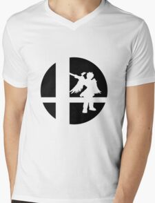 Dark Pit - Super Smash Bros. Mens V-Neck T-Shirt