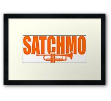 Louis Armstrong - Satchmo Framed Print