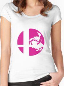 Duck Hunt - Super Smash Bros. Women's Fitted Scoop T-Shirt