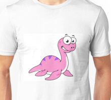 Cute illustration of the Loch Ness Monster. Unisex T-Shirt