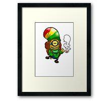 Rasta Minion Framed Print