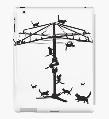Hills Hoist cats - 2 iPad Case/Skin