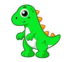 Cute illustration of Tyrannosaurus Rex. by StocktrekImages
