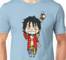 Monkey D. Luffy chibi Unisex T-Shirt
