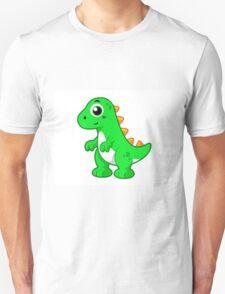Cute illustration of Tyrannosaurus Rex. T-Shirt