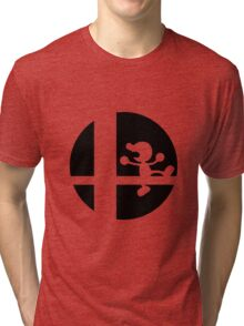 Mr. Game and Watch - Super Smash Bros. Tri-blend T-Shirt