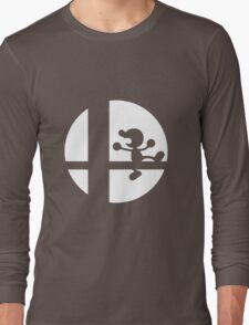 Mr. Game and Watch - Super Smash Bros. Long Sleeve T-Shirt